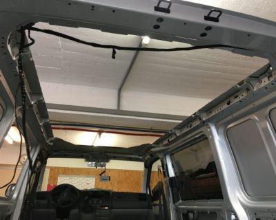 Ausbau Teil I: Wir haben jetzt ein Cabrio