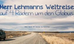 Herr Lehmanns Weltreise von Mertin Zech