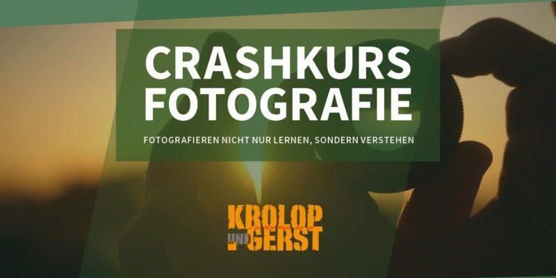 Crashkurs Fotografie: Videokurs von Krolop und Gerst