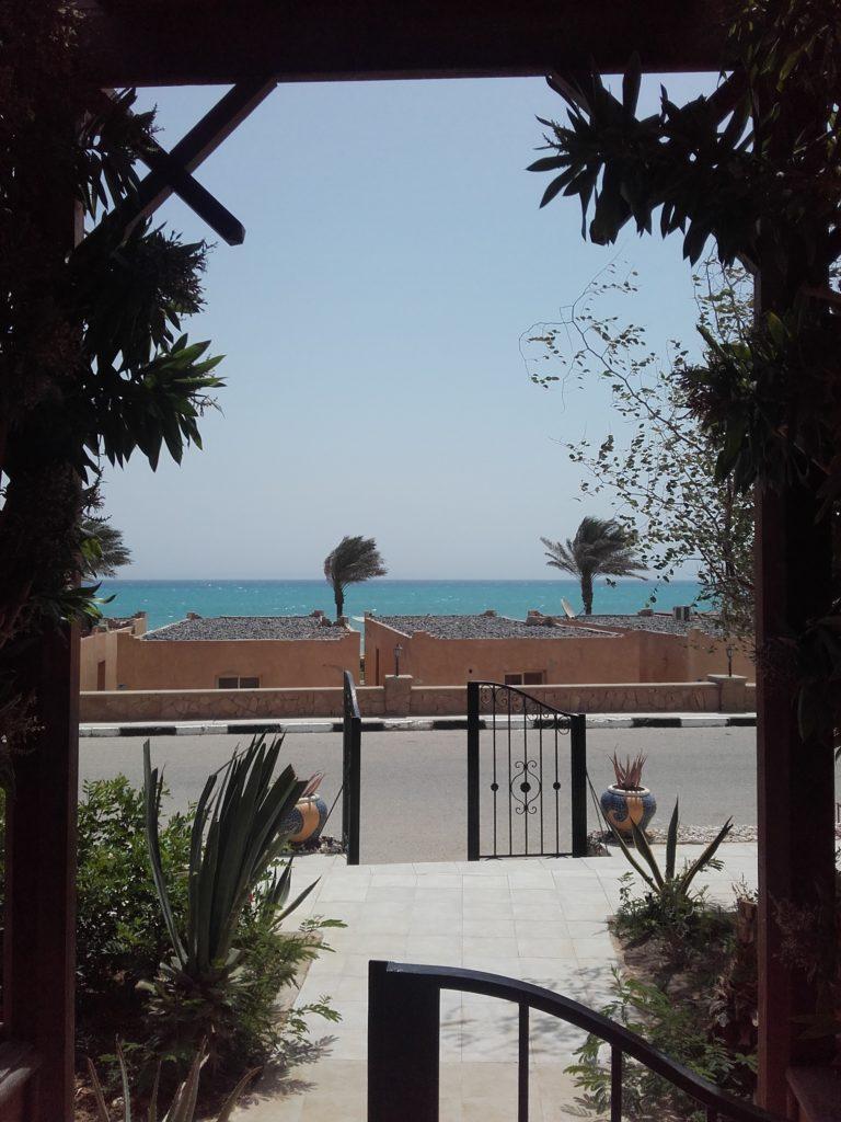 Meerblick von unserer Terrasse